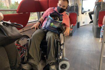 новые автобусы и инвалиды