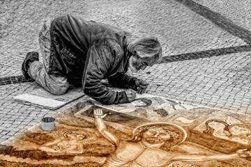 художники на дворцовой