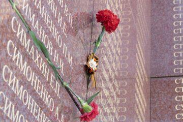 новый мемориал на пискаревском