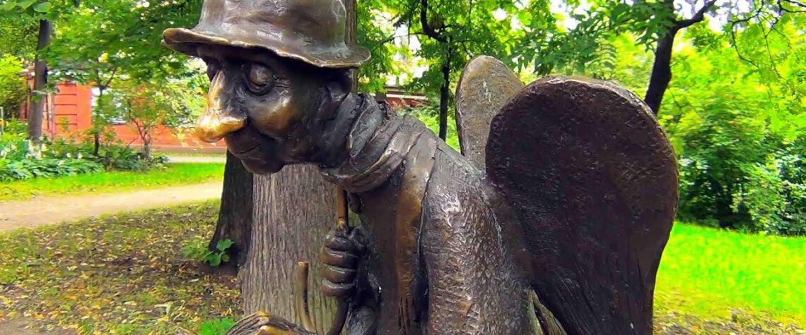 ангел в измайловском саду