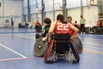 чемпионат россии по регби на колясках
