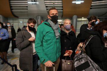 навальный в химках