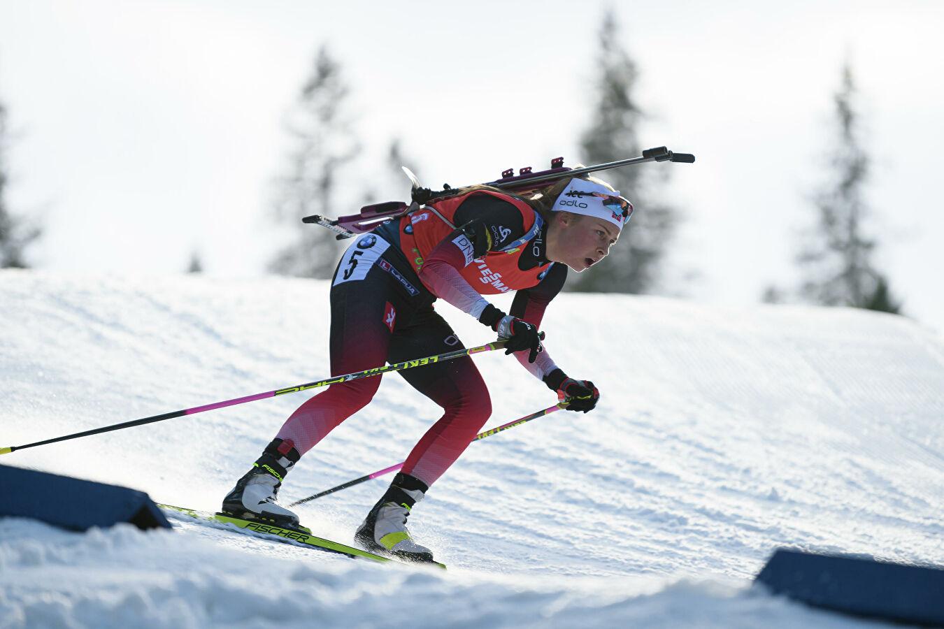 биатлонистка норвегия