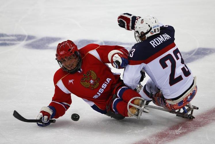 следж хоккей россия