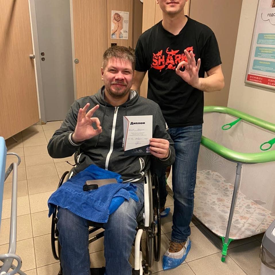 обучение дайвингу инвалид