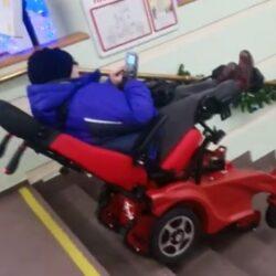 Ступенькоход коляска