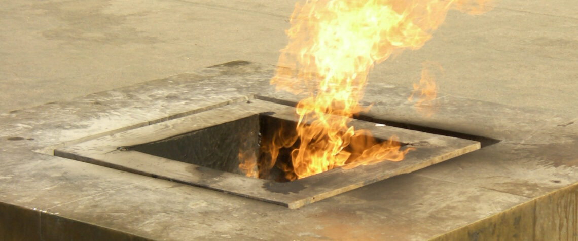затушили вечный огонь