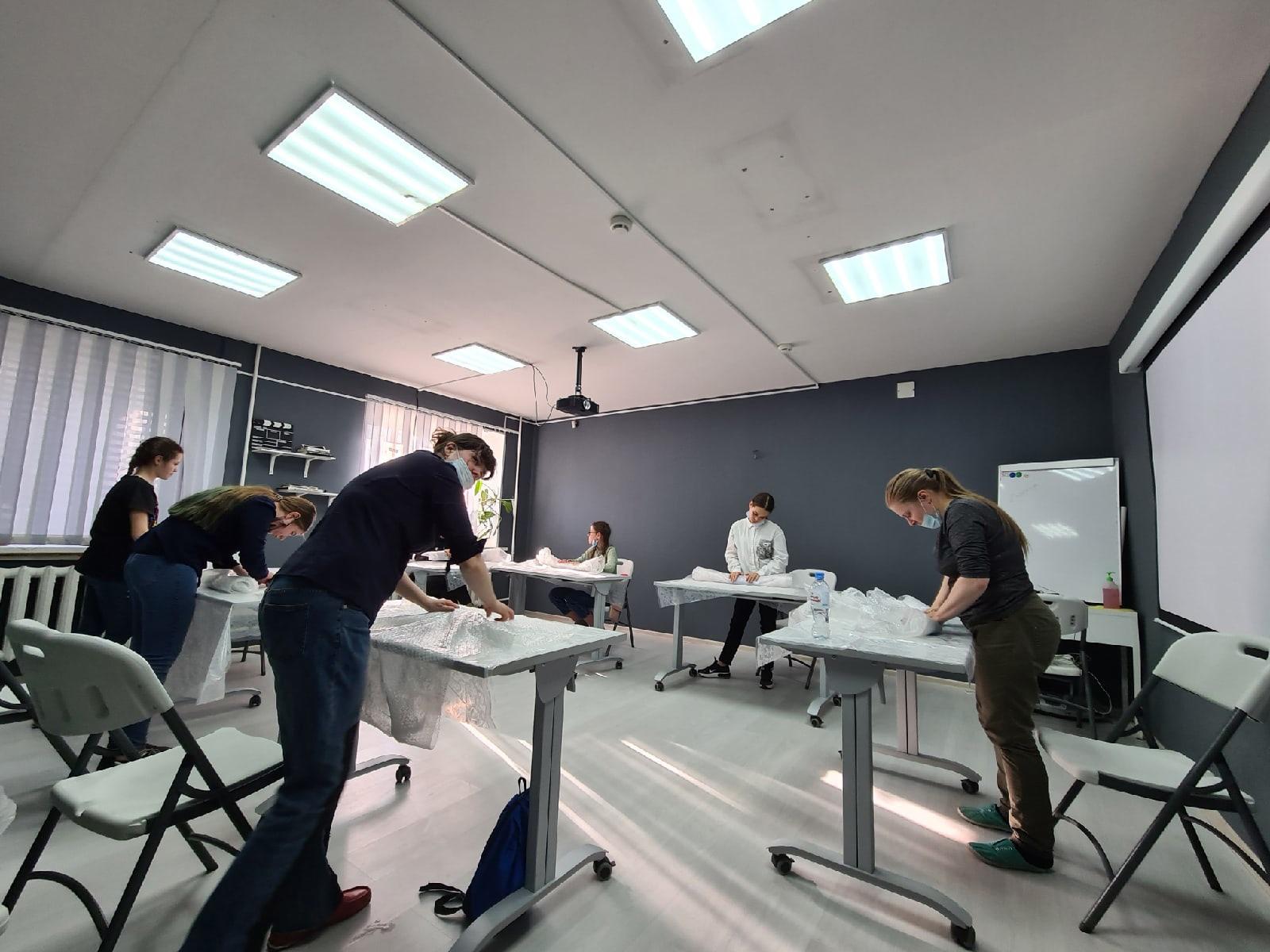 проект интеграционной мастерской «Колесо ремёсел»