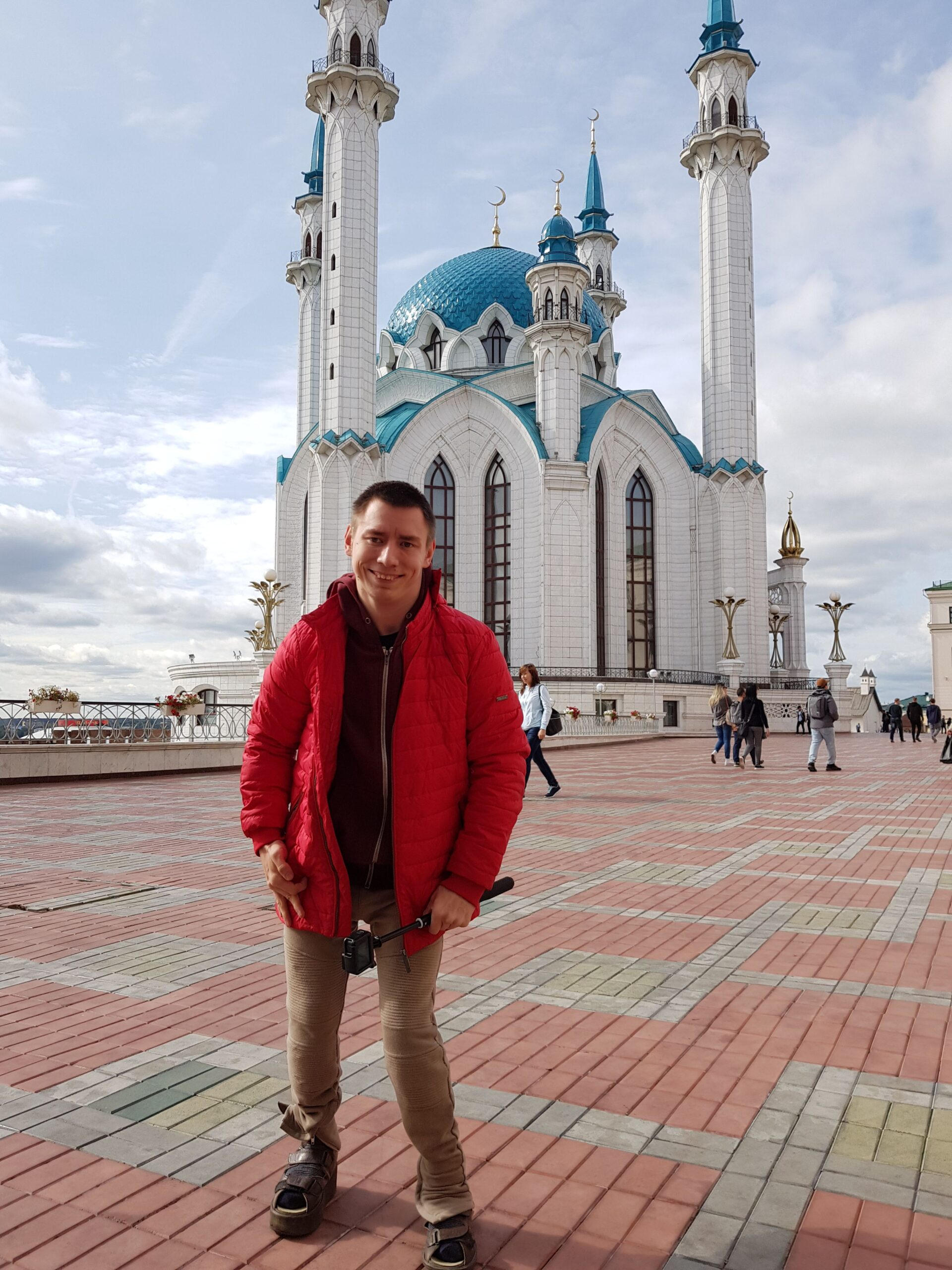 Казанский Кремль инвалид