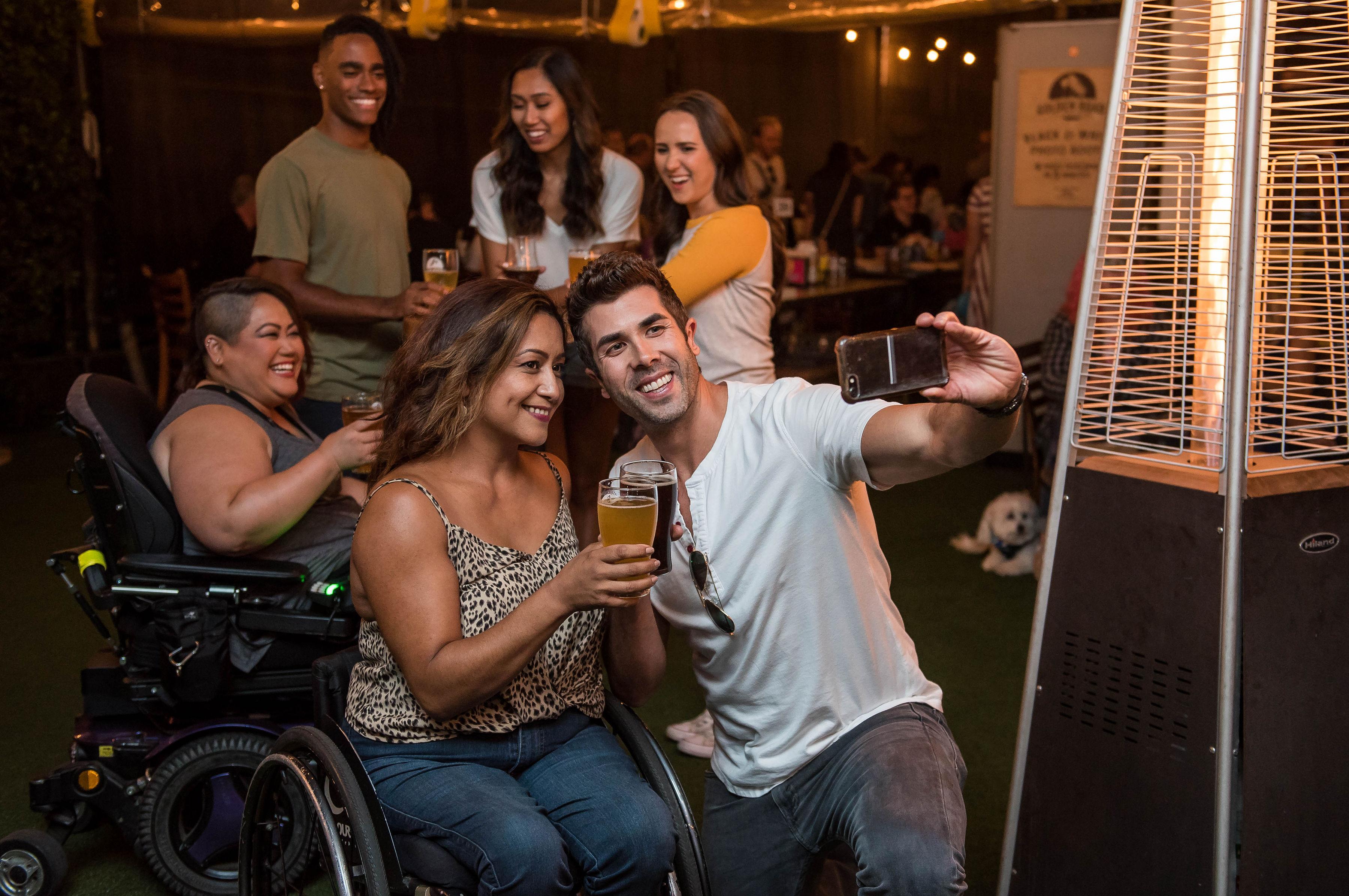 инвалидность не помеха дружбе