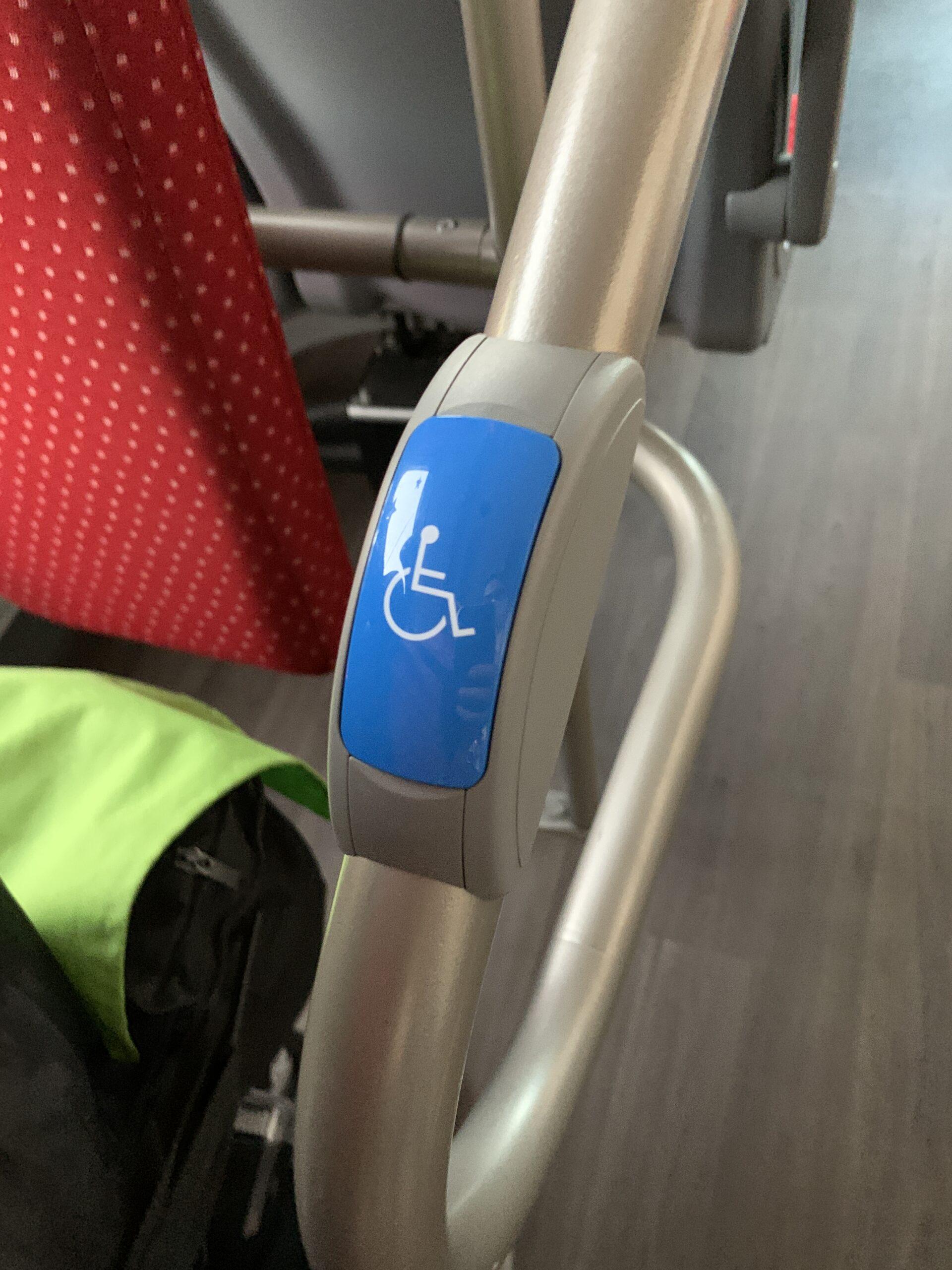 новый автобус и инвалиды