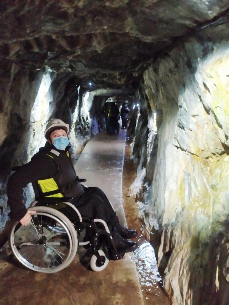 тоннель в горном парке Рускеала